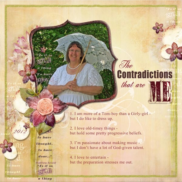 All About Me Challenge - Contradictions