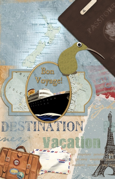 June ATC - Dream Vacation