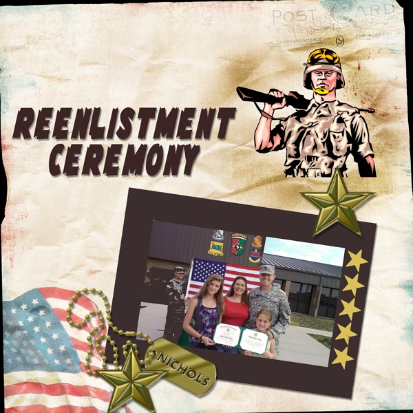 Task #19 - Reenlistment