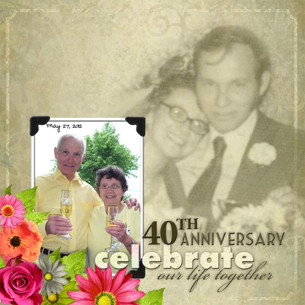 40th Wedding Anniversary