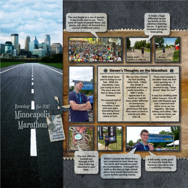 Running the 2012 Minneapolis Marathon - p.1