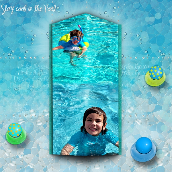 July Challenge - Stay Cool In The Pool