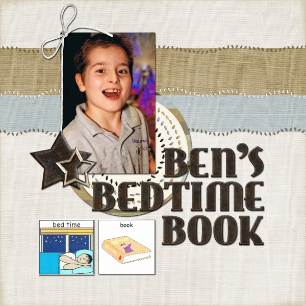 HNC Stars & Strips - Ben's Book Cover Page