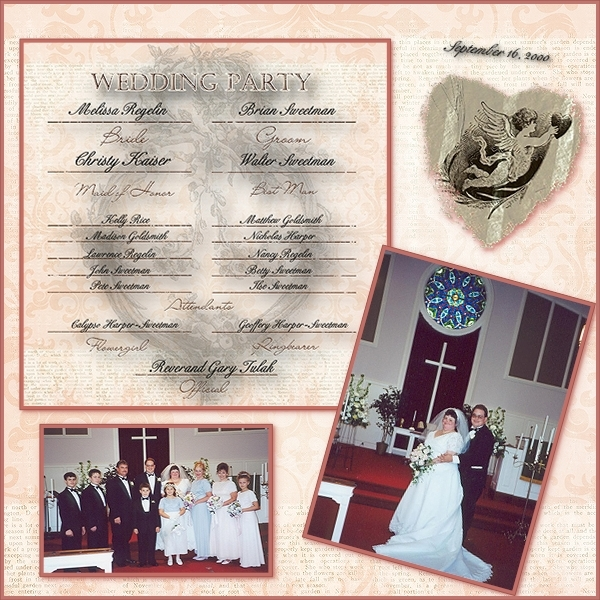 My Wedding 9-16-00