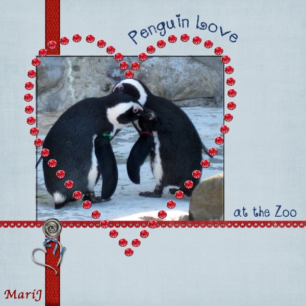 "Hurdles Speed Scrap - ""Penguin Love"""