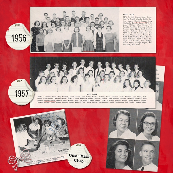 SG Club, Class of 1958 (right)