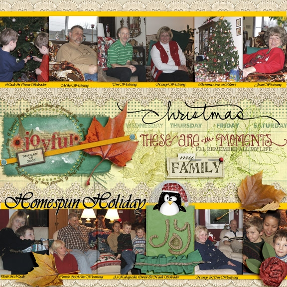 2005 Homespun Holiday(HNC-7/25 tag)