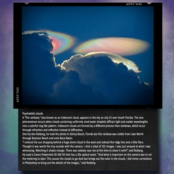 Fire Rainbow - July 31, 2012