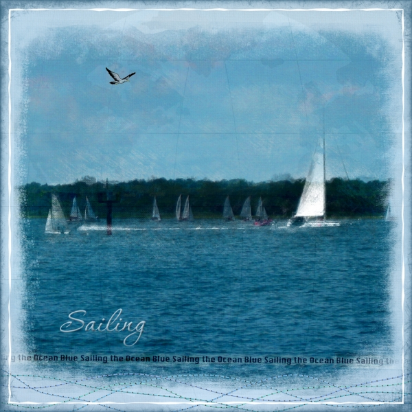 "Thursday 8/30 Challenge - ""Sailing"""