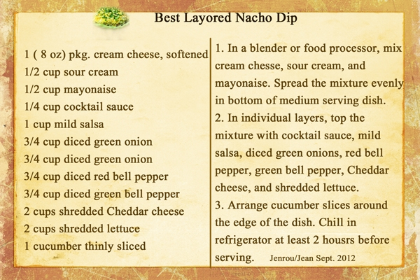 Jenrou_Best Layored Nacho Dip (Sept. 2012)