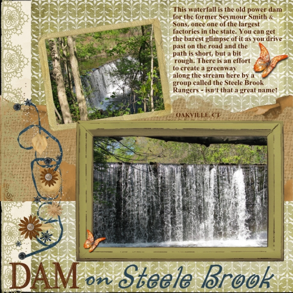 Simplify Sept. - Steele Brook Dam