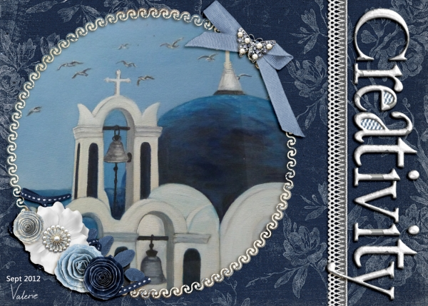 Sept ATC - Creativity