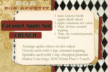 Caramel Apple Nut Crunch