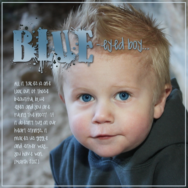 Blue-Eyed Boy