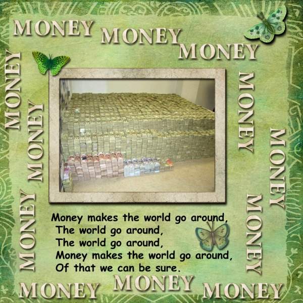 Monday October 15 Challenge -- Money