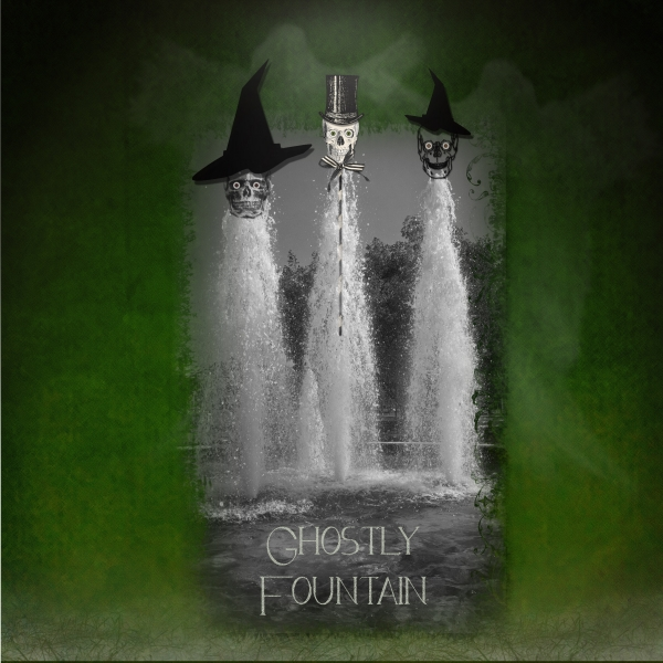 October 3 - White Space - Ghostly Fountain
