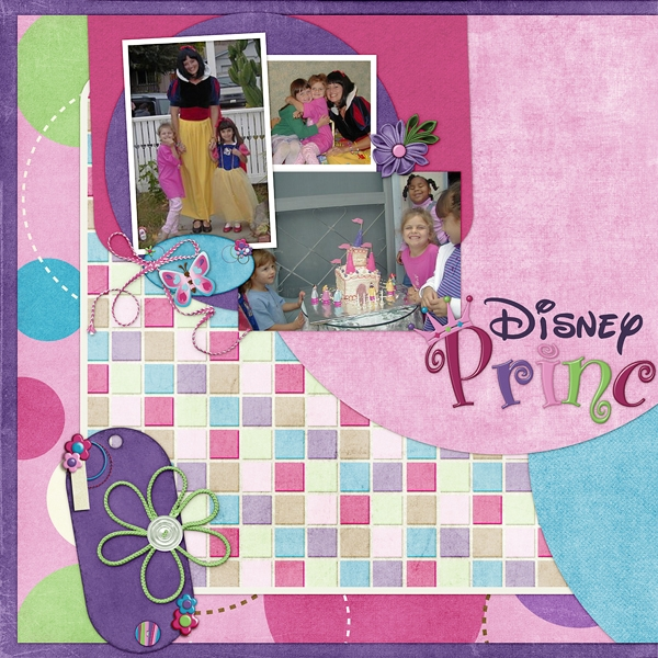 Disney Princess Party (Left side)