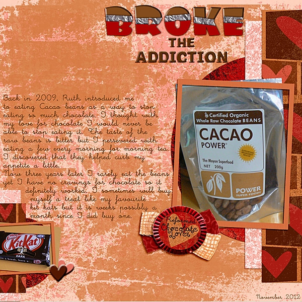 Monday 29th Chocolate Challenge - Broke the Addiction