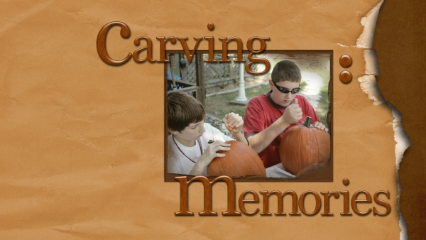 Carving Memories-Desktop Challenge
