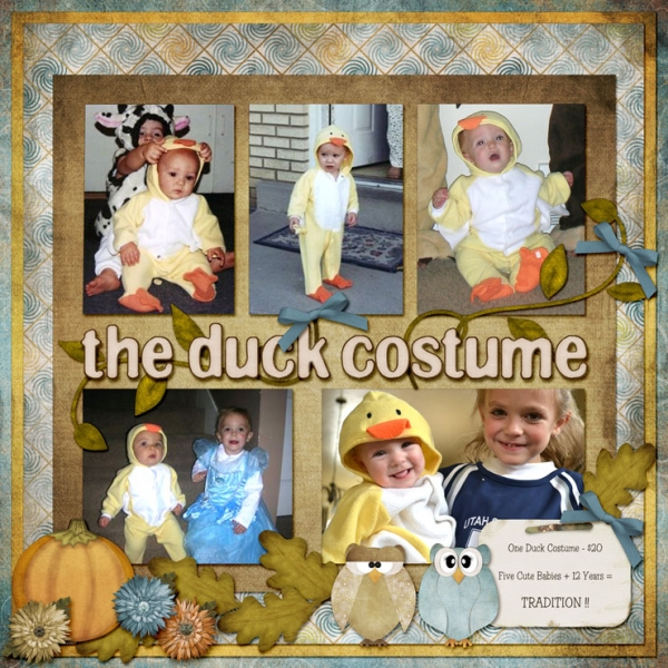 OCTOBER GALLERY CONTEST - COSTUMES - THE DUCK COSTUME