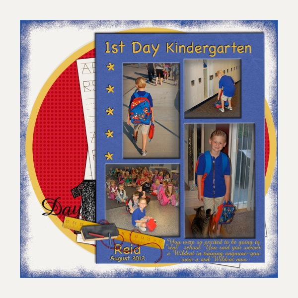 Kindergarten-Day 1 11/6 Freebie