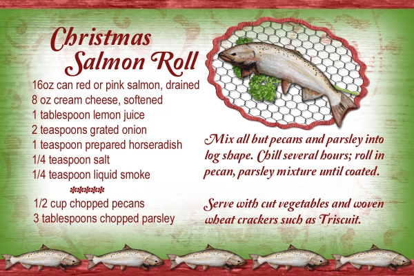 Christmas Salmon Roll