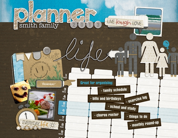 Planner Cover 2013