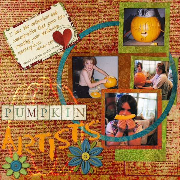Tues 11/13 Pumpkin Artists