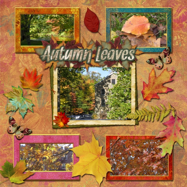 Thursday 10-25-12 Challenge -- Autumn Leaves