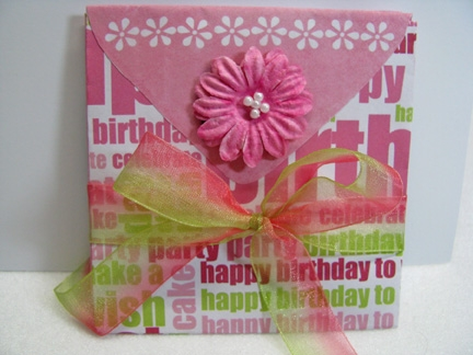 Printable Envelope Albums - Birthday