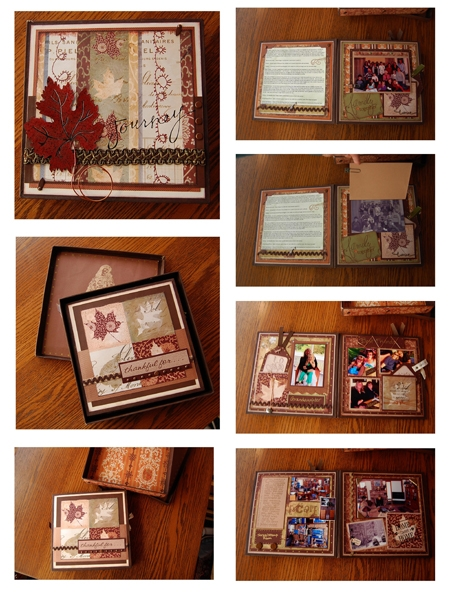 Box & Accordion Book