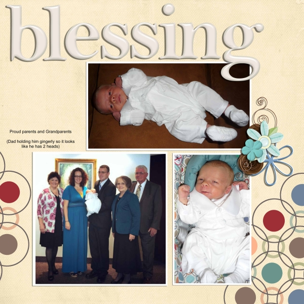 Our little blessing