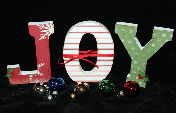 DIY Altered Letters