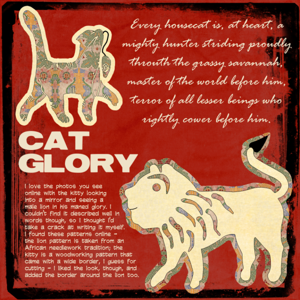 Fri 1/4 - Cat Glory