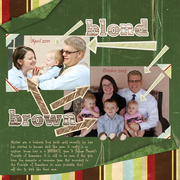12/17: Blond-Brown