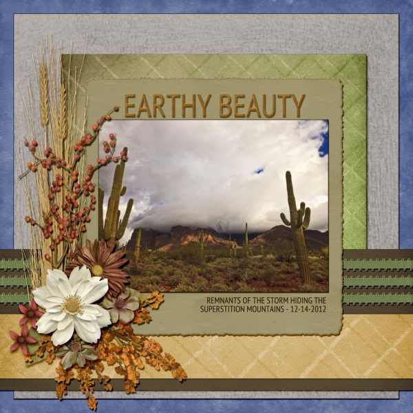 Monday Challenge 1/7 - Odds - EARTHY BEAUTY