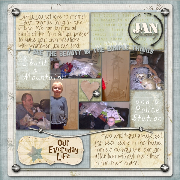 Project Life 2013 January page two