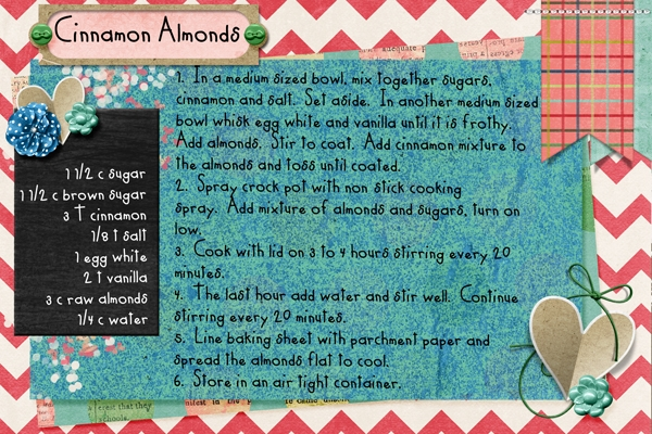 Cinnamon Almonds-Jan 2013 Recipe swap