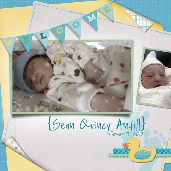 Welcome baby Sean!