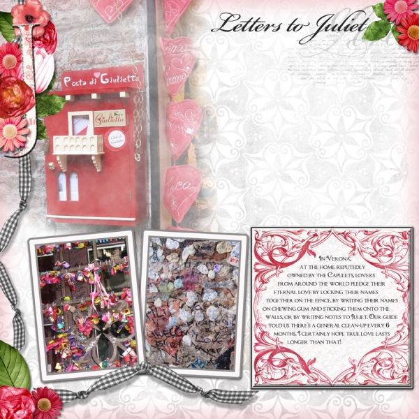 Jan SS Club - Letters to Juliet