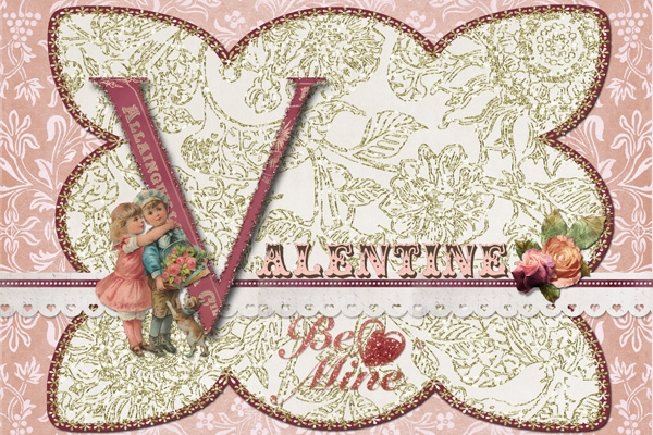 Scrap Simple Club - Valentine