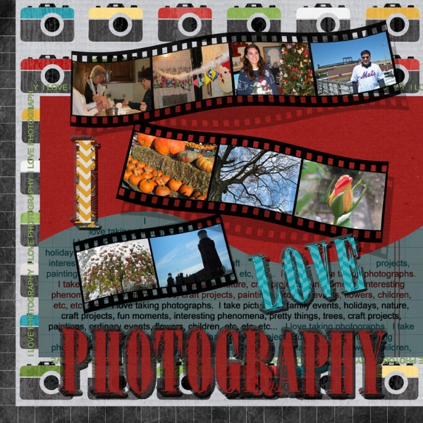 "Thursday 2/7 Challenge - ""Photography"""