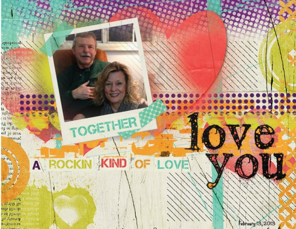 Project 2013 - February - Rockin' Kind of Love!!!  :)