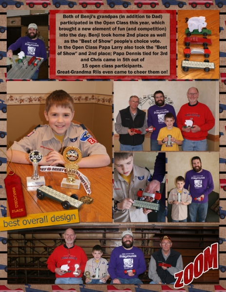 Project Life 2013 Pinewood Derby right