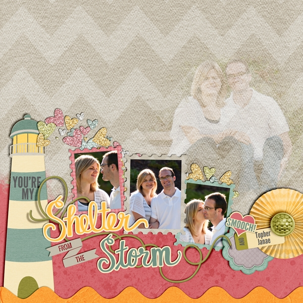 Shelter from the Storm - Safe Harbor Collection Biggie Layout