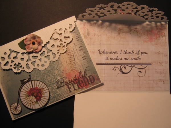 Hybrid card for Karen