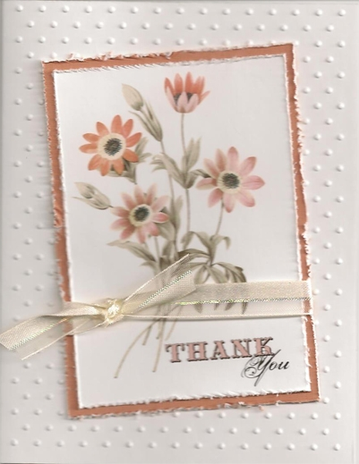 Thank You Card 2 For Ann