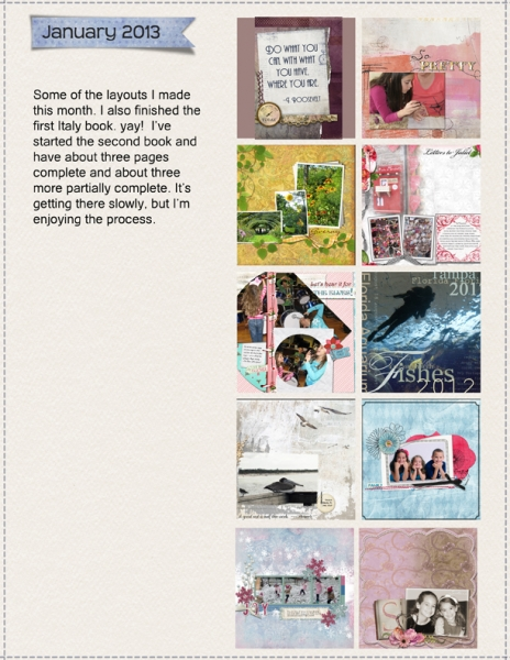 Proj Life January 2013 Layout 2 - layouts