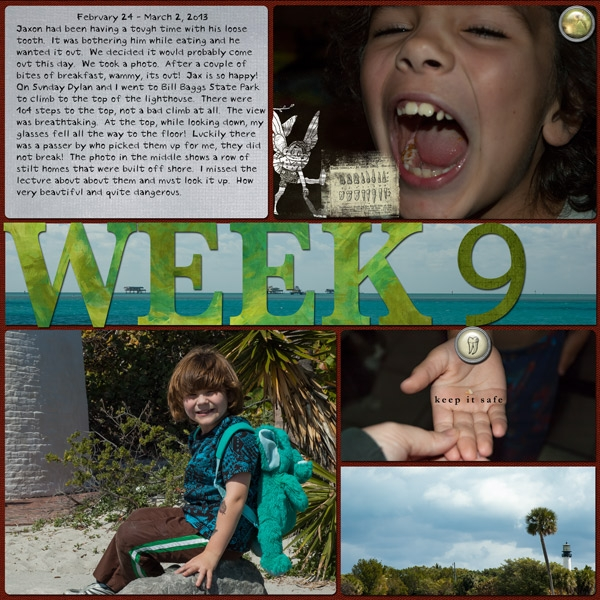 Project Life Week 9 Page 2