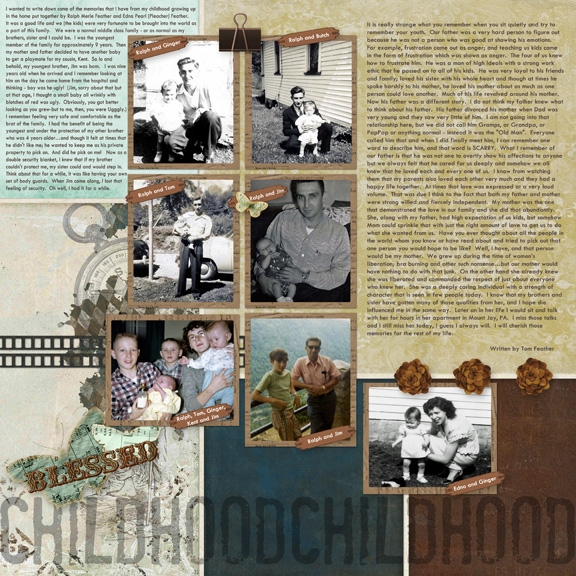 Baby-Childhood Layout